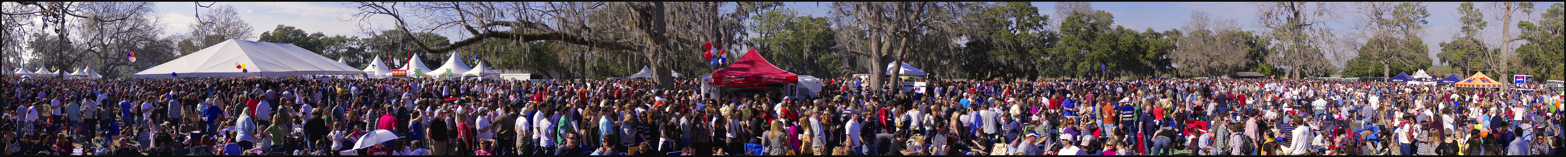 Lowcountry Oyster Festival 2011 - Panorama 1